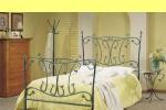 Мебели за спалня от ковано желязо вносител