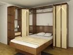 обставление спален в маломерных жилищах