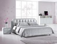Кровати с обивкой из ткани бизнес
