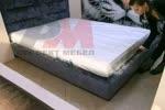Поръчков спален комплект с тапицирано легло